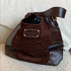 Kate spade suede hobo purse